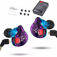 Kabelgebundene Kopfhörer Original KZ ZST Armature Dual Driver 3,5-mm-Kopfhörer Abnehmbares Kabel In-Ear-Ohrhörer Audio-Monitore HiFi Music Sports Headset