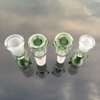 18 estilos !!! 10 mm 14 mm 18 mm de vidrio de vidrio azul verde blanco hembra de vidrio de vidrio cuencos de bolígrafos para bongs Glass Agua Tubos DAB RIG