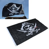 87*148cm Skull and Cross Crossbones Sabres Swords Jolly Roge...