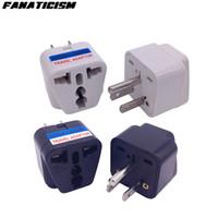 Фанатизм верхнего качества LX-5 CE ROHS Универсальный Великобритании AU EU Для США Plug адаптер США Путешествия AC Power Plug адаптер Электрический преобразователь