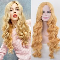Z&F Brand New High Quality Blonde Curly Gorgeous Women 73 CM...