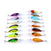 1 adet 14g 10 cm Crankbait Balıkçılık Wobblers Sert yem Bas Spinner Balıkçılık Lures 17 Renkler Pesca olta takımı YE-195