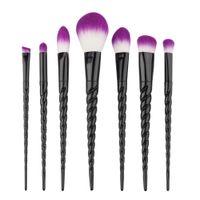 Yeni Makyaj Fırçalar 7 ADET Makyaj Fırçalar Teknik Profesyonel Güzellik Kozmetik Fırçalar Setleri Ücretsiz Kargo B005