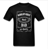 2020 Worlds Best Dad Papa Geburtstags-Geschenk Vati Anwesend Pappa Herren T-Shirt Vatertag T-Shirt Lustiges 100% Cotton Tee Plus Size T-Shirts