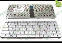 Nuova e originale tastiera portatile per notebook per HP Pavilion dv5 dv5-1000 dv5-1100 dv5-1200 dv5t dv5z Argento versione inglese USA - 9J.N8682.J01