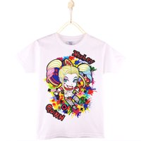 2017 Kids Clothes Children T Shirts Suicide Squad Baby Harle...