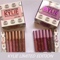 2017 New Kylie limited edition matte Liquid Lipstick Kylie J...