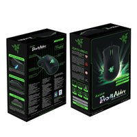 2016 Razer Death Adder Souris Souris Gaming Mouse de haute qualité 3500DPI Optical Wired Mouse Livraison gratuite