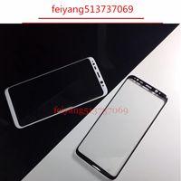 10 adet Tam 3D Kavisli Temperli Cam Filmi Samsung Galaxy s9 s9p S8 G950 / S8 Artı G955 not 8 Ön Koruyucu Ekran Koruyucu Tam Kapak
