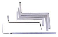 5 pezzi Blocco Set Set Set Fiambysmith Strumenti multifunzione metallo Tension Rod Puch Rod TubeSension Wrench Fabbro rifornimento