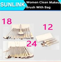 Hot Persian hair make up brush 12 18 24pcs makeup brush tops...