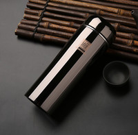 Großhandel - neue Echte Titan 304 Edelstahl Vakuum Tasse Flasche für männliche weibliche Business cup von hochwertigen Qualität Geschenke