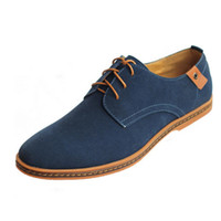 Men Shoes Mens Casual Shoes Fashion Big 38- 48 Suede Syntheti...