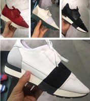 Alta calidad Mixed Colors Casual Shoe Man Woman Cheap Sneaker Diseñador de moda Low Cut Patchwork Zapatos Mujer Race Runner Shoes With Box