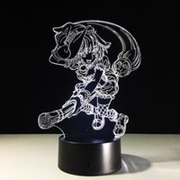 2017 Kirisame Marisa 3D Illusion Night Lamp 3D Optical Lamp ...