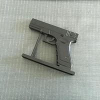 Büyük Metal Tabanca Gloucester 18 PKK DE Revolver Çakmak Simülasyon Modeli Hafif Metal Tabanca Tipi Silah Çakmak