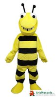 Adult Size Bumblebee Mascot Costume Bee Mascot Outfits Insec...