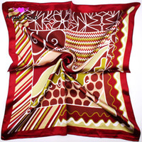Специальное предложение разнообразие магия шелковый шарф 60 * 60 см шарфы для девочек женские булочки сумки одежда бабочка бары