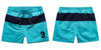 Wholesale-Summer Swimwear Beach Pants Mens Shorts da uomo Men Surf Shorts Piccolo cavallo Swim Trunks Sport Shorts de bain homme spedizione gratuita