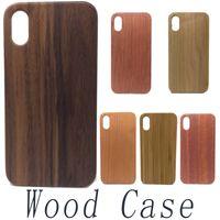 Eco-friendly de madeira real pc + madeira case original madeira case capa à prova de choque shell do telefone para samsung s8 s9 plus nota 8 s7 borda