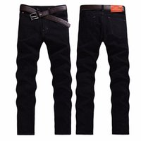Wholesale- Fashion Slim high quality jeans men fall and winte...