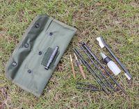 10PCS AR15 M16 M4 بندقية تنظيف كيت الادسنس بندقية مسدس Cleanner ل5.56mm 0،223 22LR 0.22 كال التكتيكي البندقية بندقية مجموعة فرش