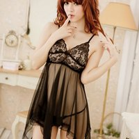 Wholesale- Women Sexy Chic Erotic Womens Lingerie Nightdress...
