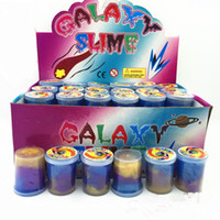 Funny Kids Rainbow Colored Oil Slime Putty Toy Slime putty P...