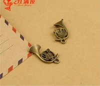 21*16MM Zinc alloy bronze musical instruments speakers music...