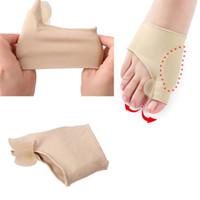 Big Bone Orthopädische Bunion Korrektur Pediküre Socken Silikon Hallux Valgus Corrector Zahnspange Toes Separator Feet Pflege Werkzeug 1Pair = 2Stk