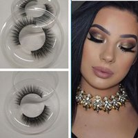 10pairs 3D Silk Lashes High- quality Fiber Handmade Natural T...