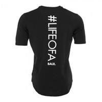 T-shirt da uomo balr Maglietta T-shirt da uomo di alta qualità Homme in cotone T-shirt BALRED Maglietta da ginnastica Tshirt da uomo