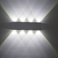 modern simple Led aluminum wall lamps 12W Aluminum LED wall ...