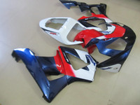 ABS inyección kit plástico carenado para Honda CBR900RR 00 01 azules rojas carenados blanco conjunto CBR929RR 2000 2001 OT25