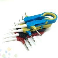 Vaper Twizer V6 vaper пинцет VI с распылителем гаечный ключ Керамический пинцет регулировка провода многофункциональный инструмент изолированный DHL бесплатно