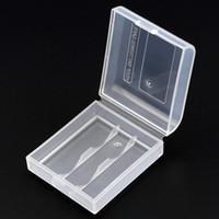 CR123A CR2 16340 14250 Soshine battery Cajas de almacenamiento Caja de almacenamiento de plástico Funda protectora de la batería