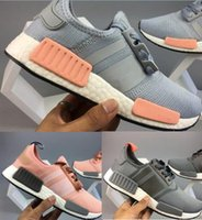 Factory sales promotion real picture pink gray NMD Runner R1...