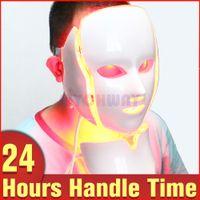 착색 수정에 대한 PDT 광자 LED 페이셜 마스크 피부 젊 어 짐 광역 피부 미용은 7 색 조명