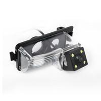 كاميرات الرؤية الخلفية السيارة مع أضواء LED لنيسان تيدا / ليفينا / Geniss / Versa HB / GT-R عكس الكاميرا # 4032