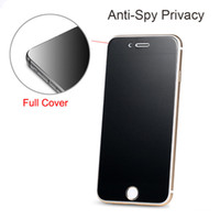 Para iPhone XS Max 8 7 Plus Privacy Screen Protector Shield Anti-Spy Glass templado para IPhone 6 6S 6.5 pulgadas XR