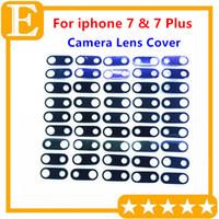 """100 шт./лот оригинальный объектив камеры стекло с рамкой для iPhone 7G 4.7"""" 7 плюс 5.5"""" задняя камера Кольцо держатель запасные части"""