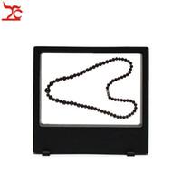 Au détail Multifonctionnel PET Élastique Membrane Bijoux Affichage Fenêtre Charm Collier Bracelet Montre Accessoires Affichage Boîte 18 * 20 cm