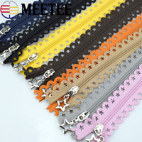 Meetee Close End Nylon Coil Zippers for DIY Bag Tailor 3# 25...