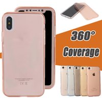 360 Degree Coverage Full Body Cover Soft TPU Rubber Case For...