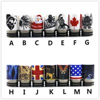 Newest Ceramic TFV8 810 510 Drip Tips for SMOK TFV8 TFV12 Ke...
