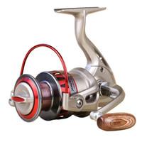 Moulinet de pêche 10BB 5.5: 1 DF1000 - 5000 filature en métal coupe de la ligne moulinet de pêche pliable échangeable côté moulinet de pêche
