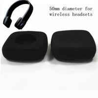 4adet 50mm köpük kulak pedi earpads kulaklık kulak yastıkları yastıkları Jaybird kablosuz kulaklık için 5 cm kapak süngerle