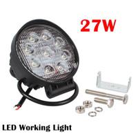 4,3 Zoll 27 Watt LED Arbeitslichtleiste für Indikatoren Motorrad Fahren Offroad Boot Auto Traktor Lkw 4x4 SUV ATV Flut 12 V 24 V