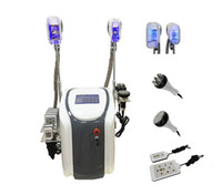 Double Cryo-Griffe Kühlkörper-Sculpting Cryolipolysis Kavitation RF-Lipo-Laser-Fett-FREEZE-Slimming-Maschine