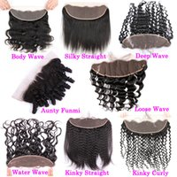 Ear To Ear 13x4 Lace Frontal Closures Body Wave Virgin Brazi...